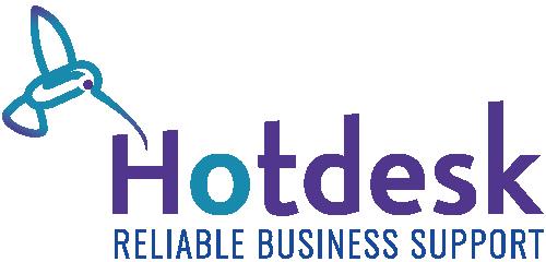 Hotdesk Business Support Logo
